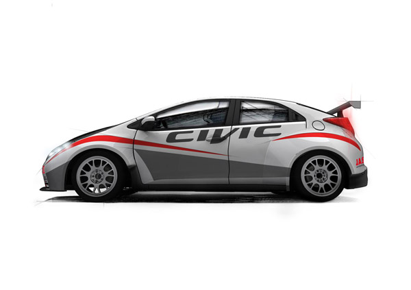 Honda Civic Hatchback Racer