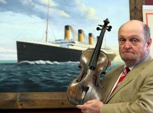 скрипка Титаник