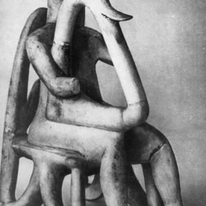 Музыкант с острова Аморгоса. 3 тысячелетие дн н. э.