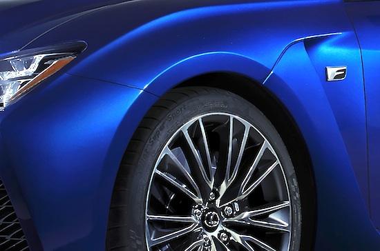 Lexus RC-F Teaser