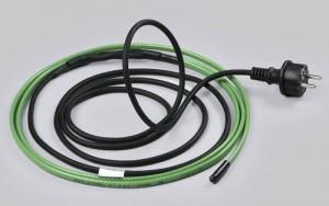 Согреваем трубы кабелем