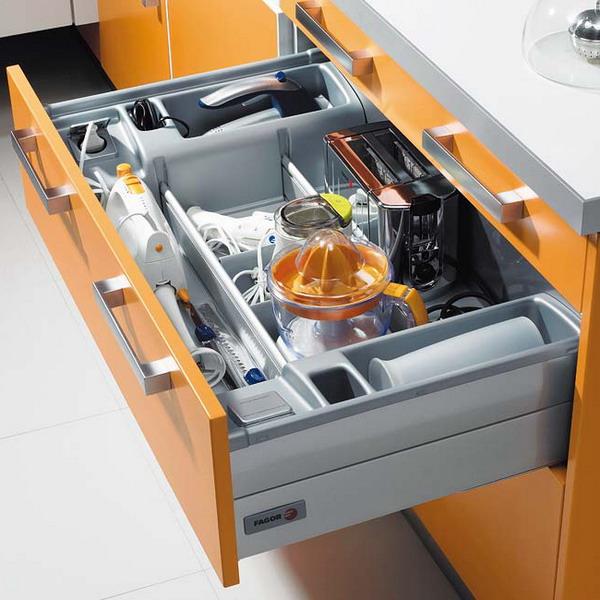 Кухонные полки - дизайн