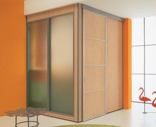 Шкафы-купе с раздвижными дверцами