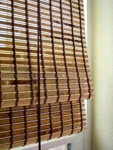 Шторы из бамбука