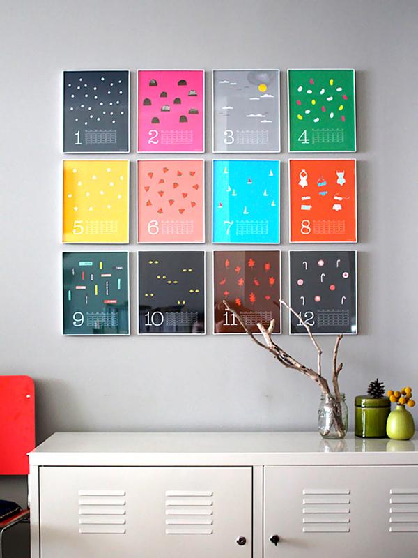 Календарь - панно
