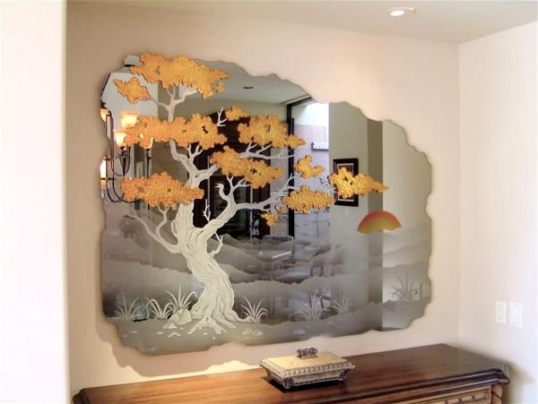 Зеркальные витражи
