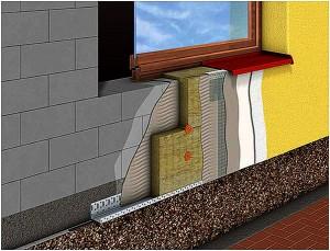 Наружное утепление кирпичного дома