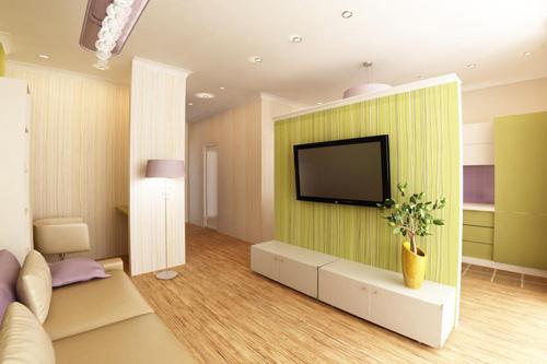 Квартира-студия. Зонирование и планировка