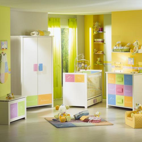 Детская комната в ярких оттенках