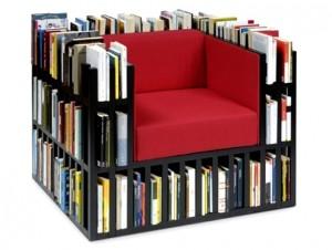Дизайн библиотеки в квартире