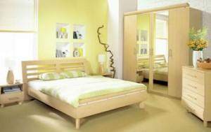 Мебель для спальни капучино