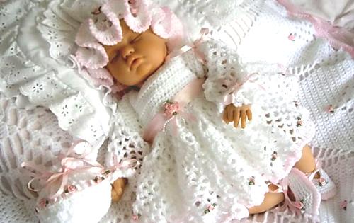 Одежда для крещения младенца