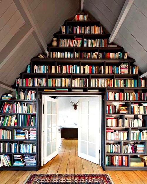 Фото библиотека в квартире и в частном доме
