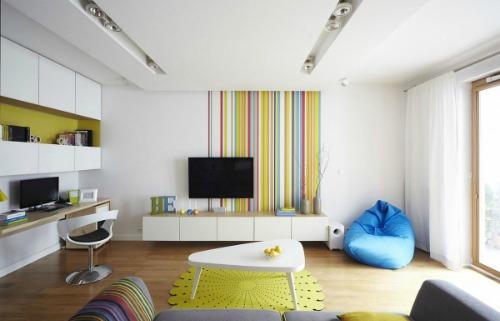Зонирование однокомнатной квартиры - фото