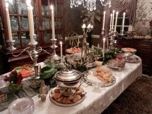 Сервировка новогоднего стола4