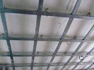 Выровнить потолок гипсокартоном
