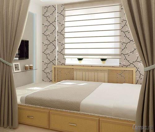 Дизайн маленькой спальни своими руками