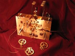 Напольные часы Hermle - механизм