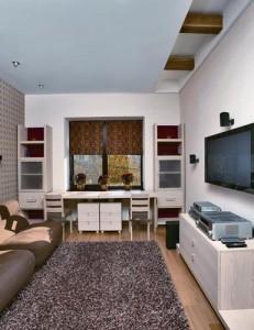 Узкая комната - дизайн
