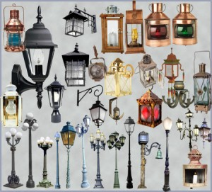 Уличные фонари