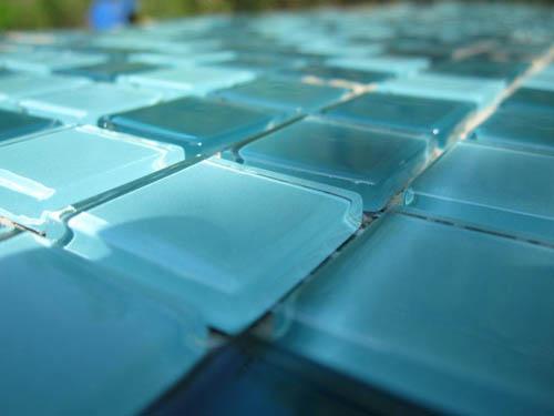 Укладка плитки-мозаики