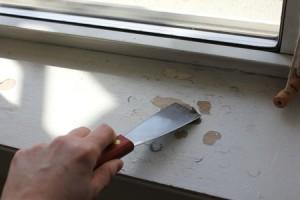 Как отреставрировать старый деревянный подоконник