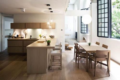Кухня в стиле дзен - фото