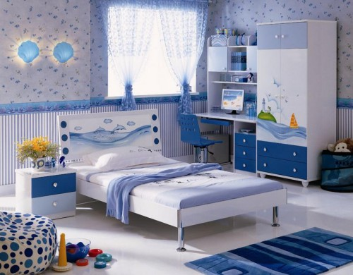 Современная детская комната для мальчика
