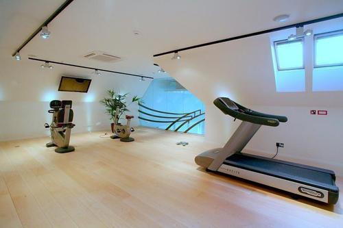 Дизайн спортзала в частном доме