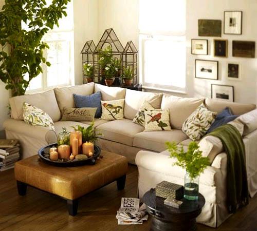 Искусственные растения в интерьере квартиры