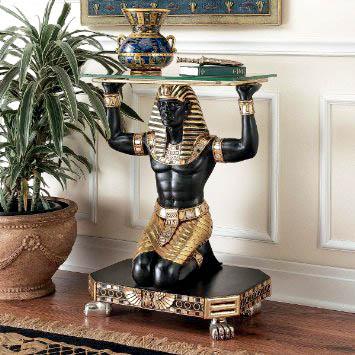 Прихожая в египетском стиле