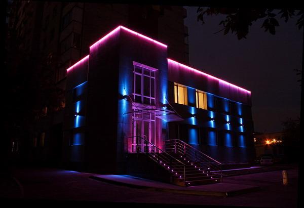 Архитектурные светодиодные светильники