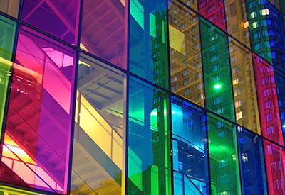Цвет стеклопакета