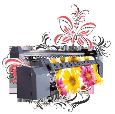 Широкоформатная печать в наружной и интерьерной рекламе