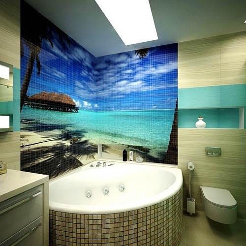 3D фотоплитка в ванной_3