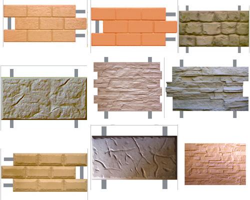Фасадная плитка - виды