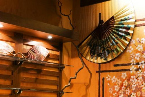 Японский стиль - стены