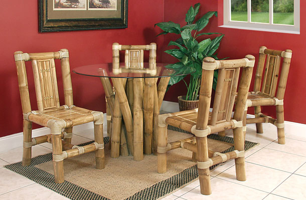 Бамбуковые стулья