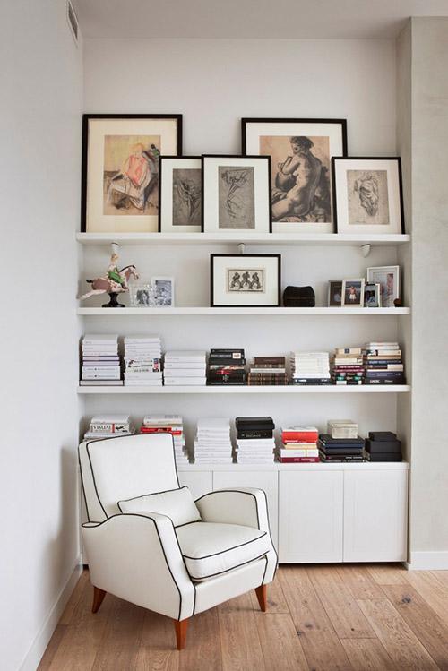 Книги в интерьере2