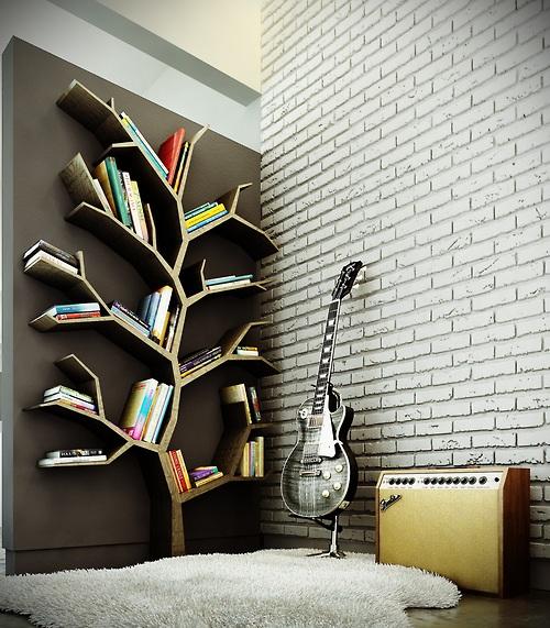 Книги в интерьере3