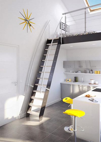 Лестница для частного дома3