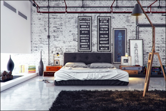 Мебель в стиле лофт в интерьере