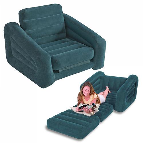 Надувная мебель - кресло-трансформер