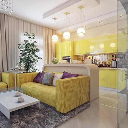 Современный интерьер малогабаритной квартиры5