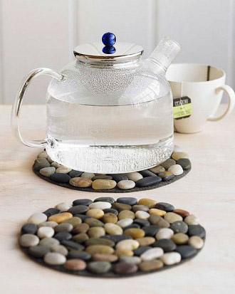 7. Самодельная подставка под чайник