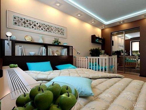 Дизайн двухкомнатной квартиры3