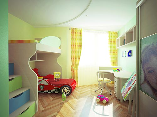 Дизайн двухкомнатной квартиры7