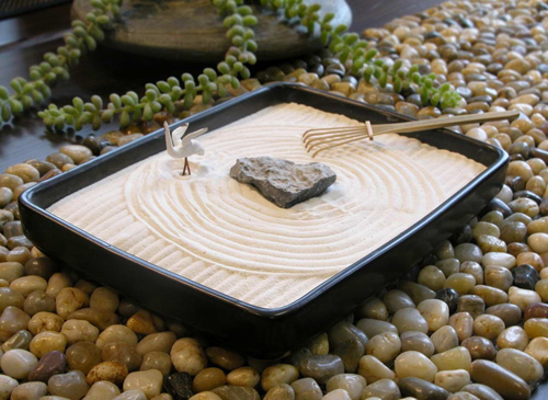 Японский сад камней2