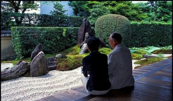 Японский сад камней3