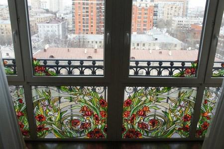 Французское остекление балконов и лоджий от пола до потолка - фото6